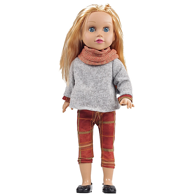 Generic Realistic Simulation 3D Doll Cuddle Girl Outing Gift Soft Body Perfect for Girl à prix pas cher