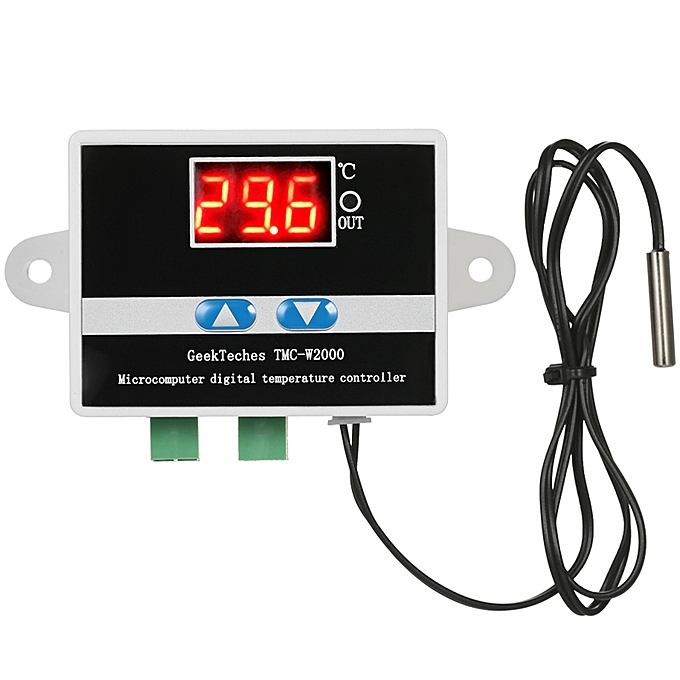 UNIVERSAL GeekTeches TMC-W2000 AC110-220V 1500W LCD Digital Thermostat Thermometer Temperature Controller à prix pas cher