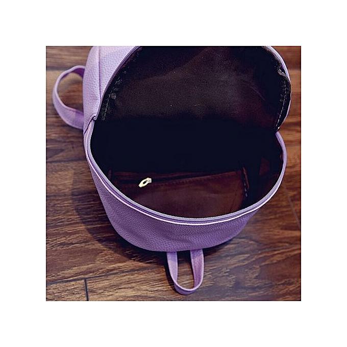 mode Xiuxingzi Girls cuir School sac voyage sac à dos Satchel femmes Shoulder sac à dos PP à prix pas cher