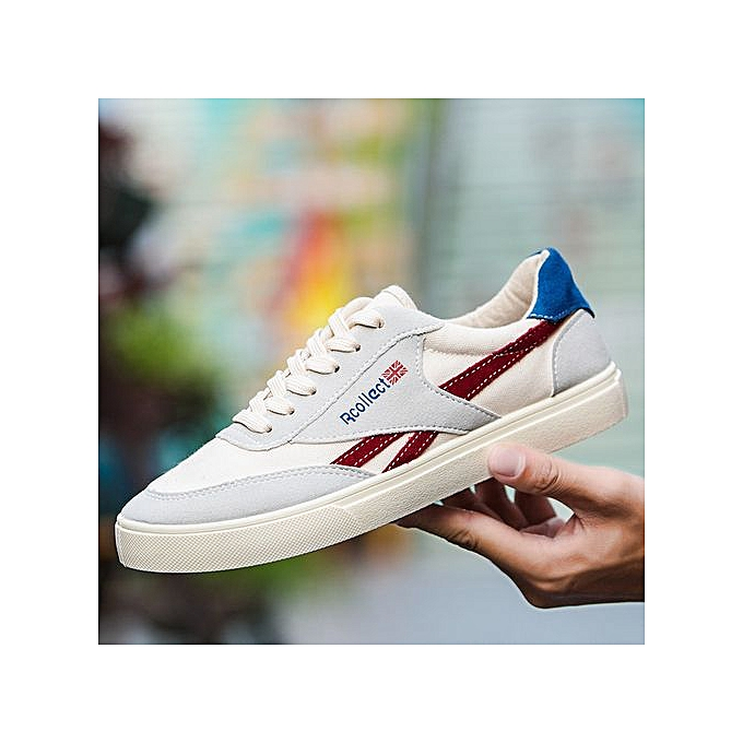 OEM New Hommes Hommes 's Chaussure s Hommes New 's casual Chaussure s Hommes 's Korean sports Chaussure s youth Chaussure s breathable Chaussure s-Rouge  à prix pas cher  | Black Friday 2018 | Jumia Maroc 5c7703