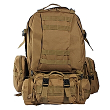 9634e1e63539 US 50L 3D Molle Assault Tactical Outdoor Military Rucksack Backpack Camping  Bag  yellow
