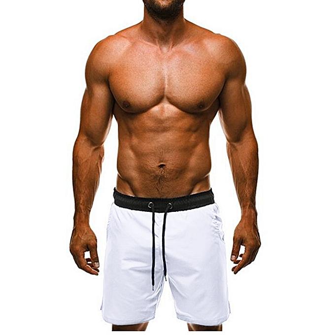 Generic Generic mode Pour des hommes courtes Swim Tcourirks respirant plage Surfing FonctionneHommest Water Pants A1 à prix pas cher
