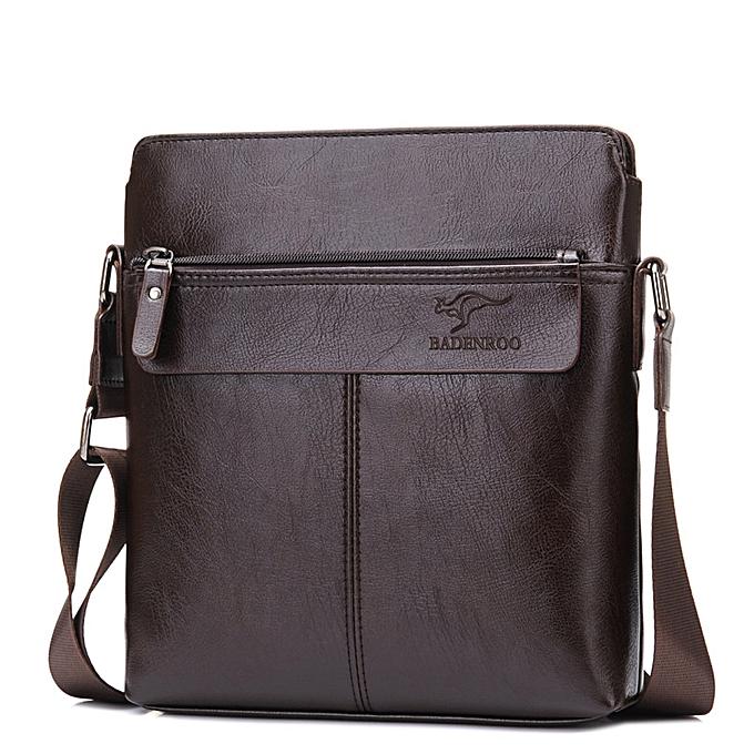 Other Portable Hand Work Business Office Male Messenger Bag Men Briefcase For Document Handbag Satchel Portfolio Brief Case Handy 2018(marron) à prix pas cher