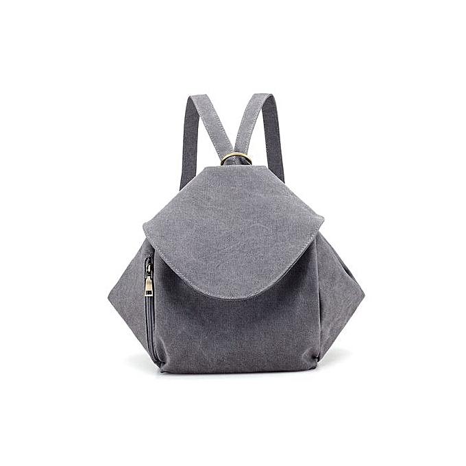 Generic mode Single Shoulder Slanted sac à dos Double Shoulder sac toile Leisure sac à prix pas cher