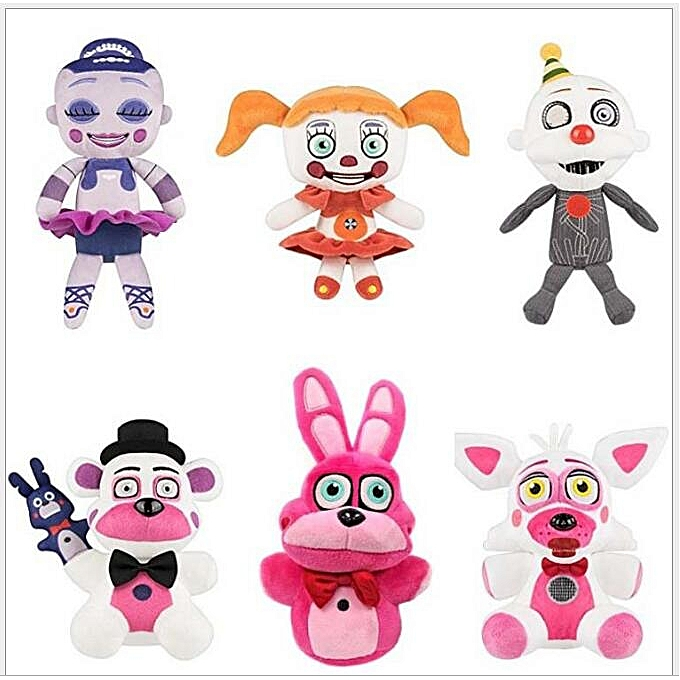 Autre Hot 26 Styles Five Nights At Frougedy Dolls Frougedy Bear Foxy Rabbit Duck Dolls Kawaii Plush Toys Frougedy Toys FNAF Christmas Gifts (N 18cm) à prix pas cher