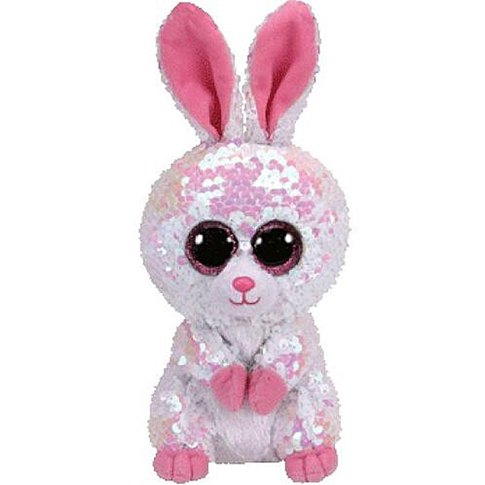 Autre Ty Beanie Boos Plush Animal Doll Sequin Soft Stuffed Cat Owl Fox Rabbit Unicorn Flamingo Sheep Dragon Dog Penguin Toys 6  15cm(Rabbit) à prix pas cher