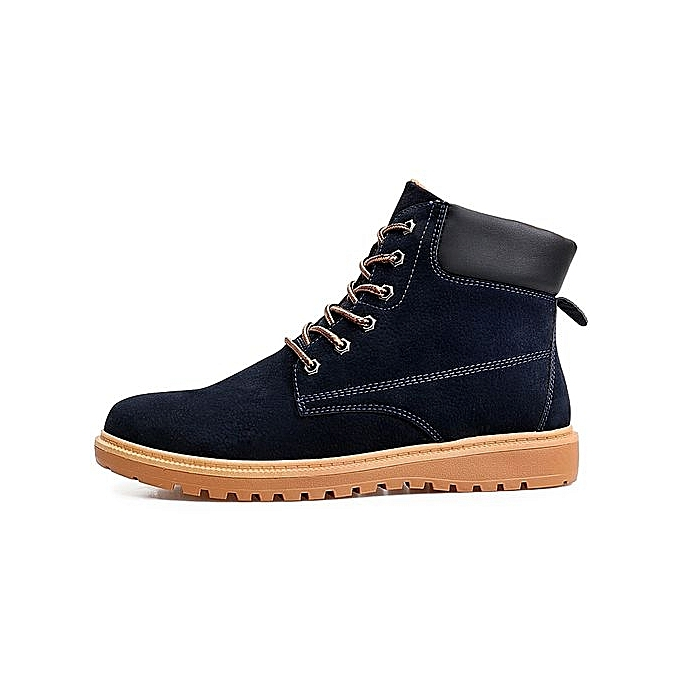 Fashion Leisure Fashion Martin Shoes-DEEP BLUE BLUE Shoes-DEEP à prix pas cher  | Jumia Maroc f6db3e