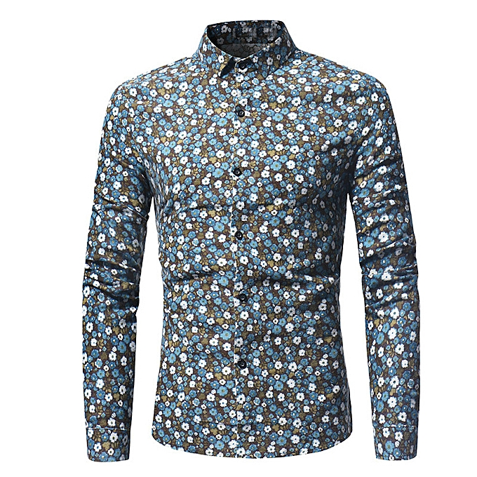 Fashion Men Plus Taille Printing Tees Shirt Long Sleeve T Shirt Blouse S -blanc à prix pas cher