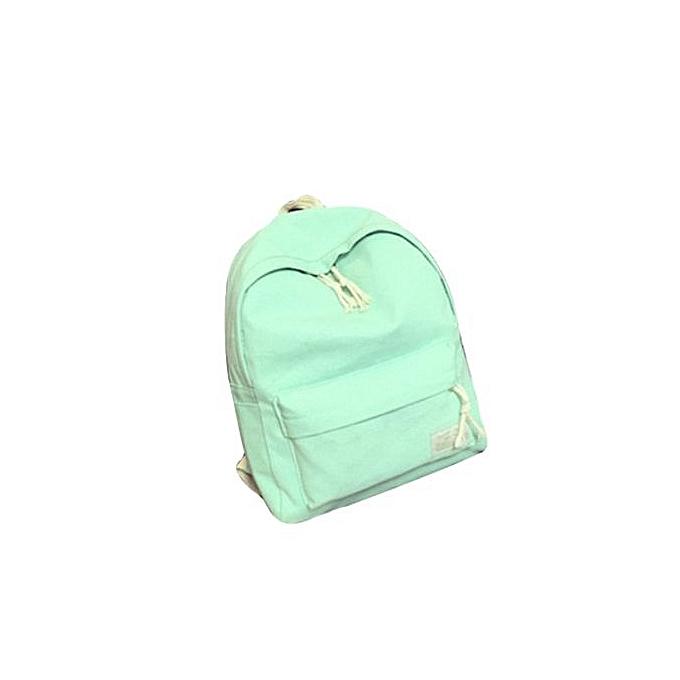 Generic garçons Girl Students toile College Wind sac à dos voyage sac sac à dos GN à prix pas cher