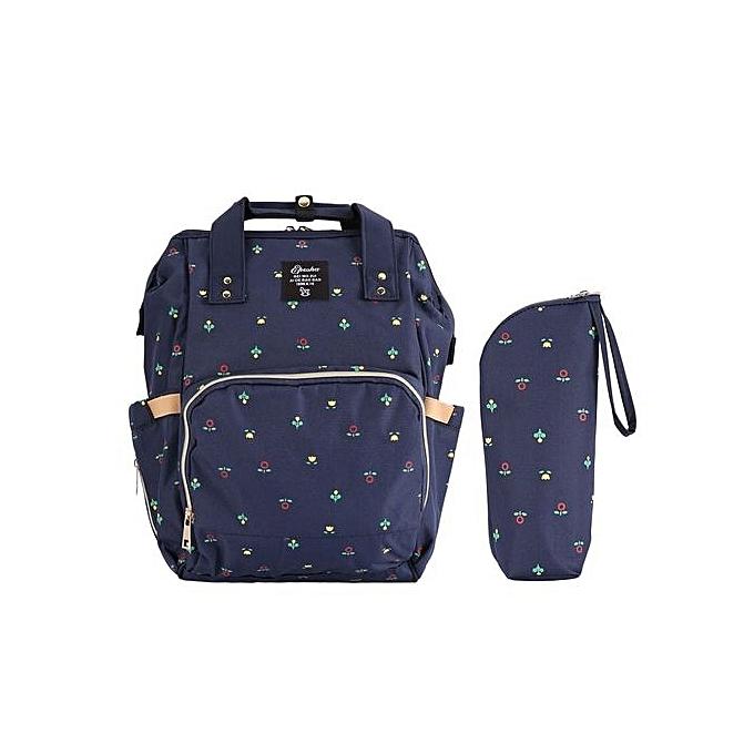 Generic 2PCS SET grand capacité Multifunctional  my sac à dos-bleu à prix pas cher