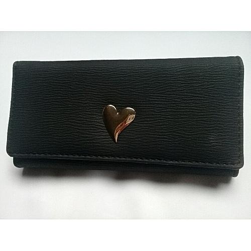 778b829ce966 Autre Grand Portefeuille et porte monnaies noir Femme Style plusieurs  pochettes porte cartes de crédit de la femme classe mode cuir et tissu a  fermeture ...
