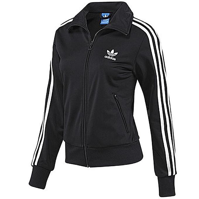 Adidas Veste Adidas Firebird Tt G87401 - Noire pour Femme à prix pas ... adab9953e53