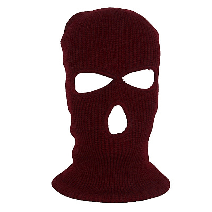 Autre Army Tactical Mask 3 Hole Full Face Mask Ski Mask Winter Cap Balaclava Hood NEW( E) à prix pas cher