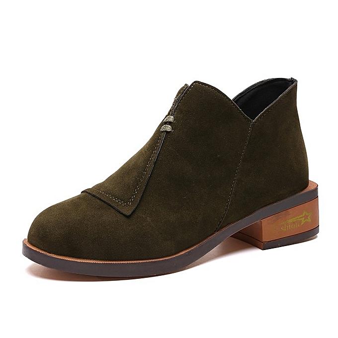 Autre Stylish England England Stylish Style WoHommes 'sLow Heels Martin boots à prix pas cher  | Jumia Maroc 58a708