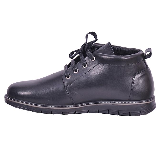 Cuir Celio Noir Classe Chaussures Hommes Bottines En sdtCxBrhQ