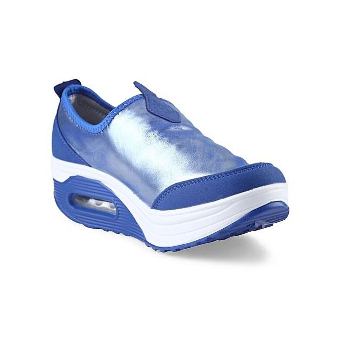 Fashion Casual Pearlite Layer Slip On     Soft Platform Shoes à prix pas cher  | Jumia Maroc 05c352