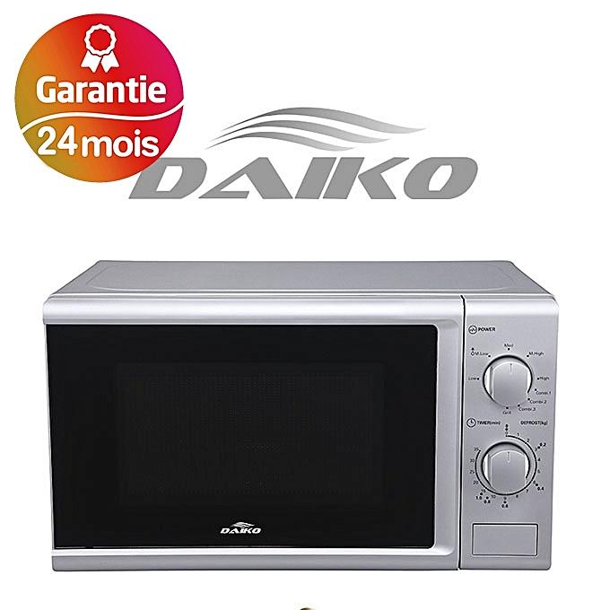 daiko micro ondes 20 litres gris 2 ans de garantie au maroc pas cher jumia maroc. Black Bedroom Furniture Sets. Home Design Ideas