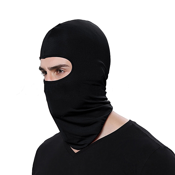 Autre Cycling Motorcycle Neck Motorcycle Face Mask Winter Warm Ski Snowboard Wind Cap Police Balaclavas Outdoor Sports Face Shield( 2) à prix pas cher