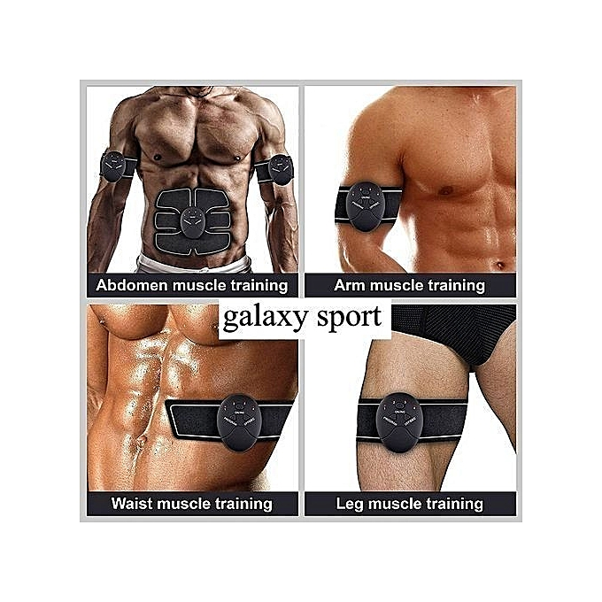 Smart fitness 6 pack stimulator ems abdominaux biceps for Interieur cuisses