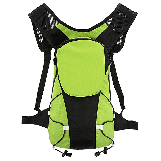 Other Lixada 5L Lightweight USB Rechargeable Reflective Backpack with LED Signal Light Outdoor Sport Safety Bag Gear for Cycling Running Walking Jogging à prix pas cher