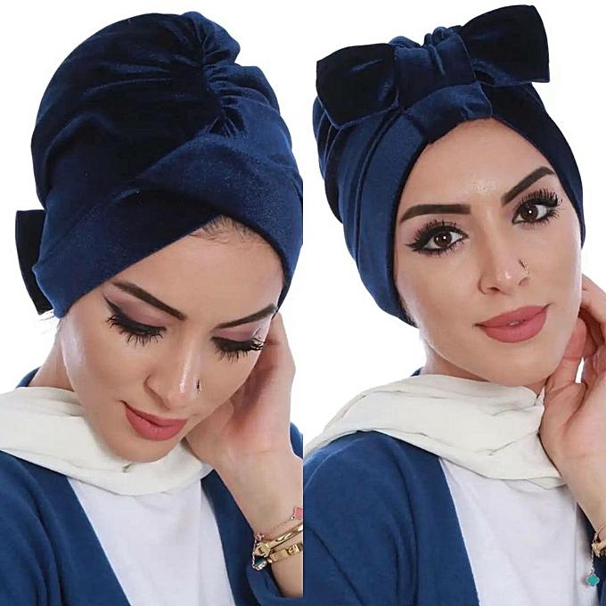 fb9b9d51504 Générique Turkish turban en velours à prix pas cher