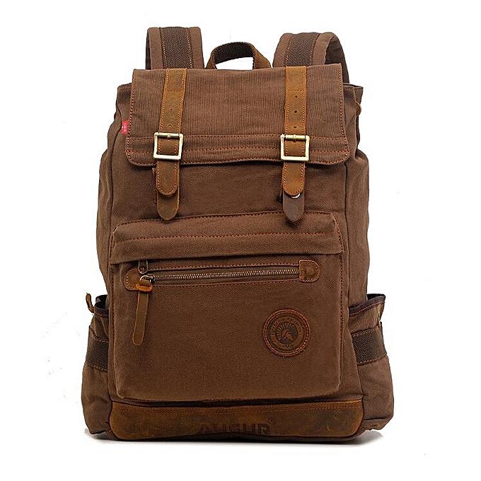 OEM nouveau arrivel mode Hommes sac à dos toile voyage Laptop sac à doss à prix pas cher