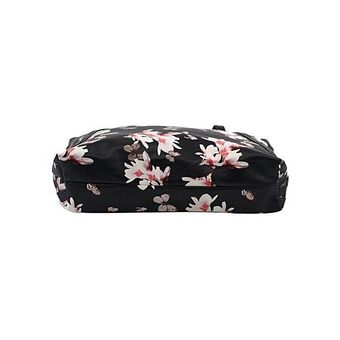 Siketu femmes Fashion Leather Bag Flowers Handbag Shoulder Bags Messenger BK-noir à prix pas cher