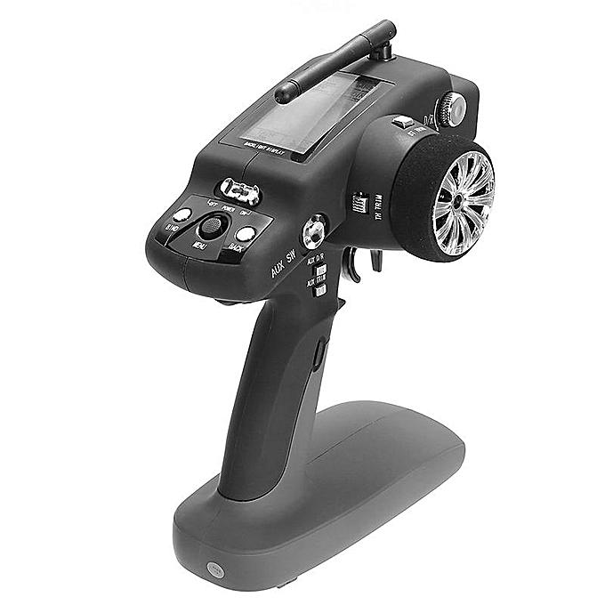 UNIVERSAL WLtoys 10428 2.4G Trasmitter LCD Screen 3CH 1 10 K949-112 RC voiture Part noir à prix pas cher