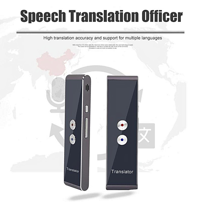 Other T8 Portable Smart Voice Translator Multilingual Language Interpreter for Learning Travel Business Meeting Voice Translator WAAAA à prix pas cher