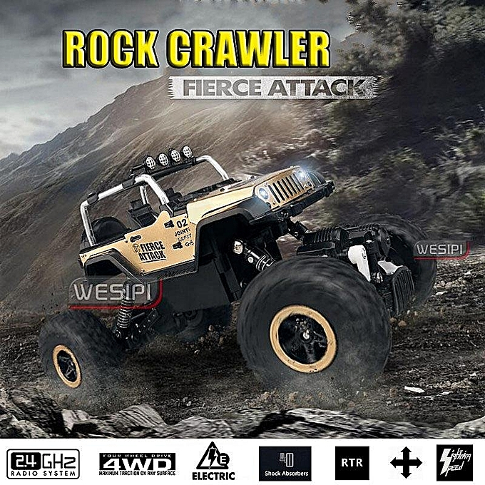 UNIVERSAL 1 18 4WD High Speed Radio Remote Control RC Racing voiture Truck Off Road Crawler or à prix pas cher