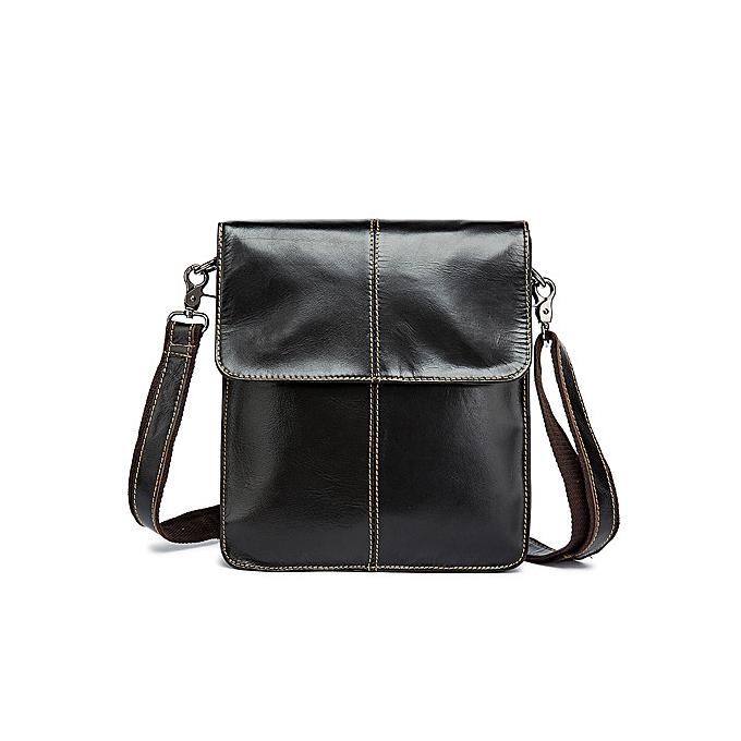 Other WESTAL Messenger Bag Men's Shoulder bags  Leather Small flap male homme Crossbody bag for Messenger men Leather bags 8821(8821G4darkcoffee) à prix pas cher