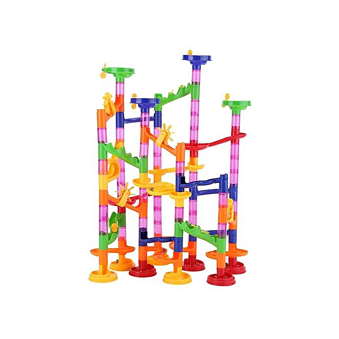 Other DIY Construction Marble Race Run Maze Balls Track Building Baby Gift Educational Toy à prix pas cher