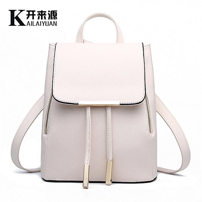 Other sac à dos femmes sac nouveau Wave Female Student sac à dos mode Décontracté Korean Version Of The School sac(Beige) à prix pas cher
