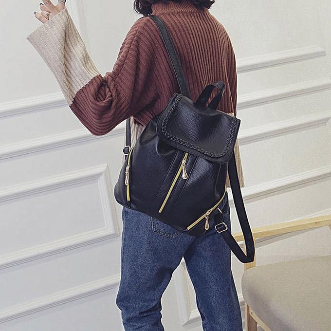 OEM femmes Backpacks School Bag Student Backpack Ladies Bags Leather Package à prix pas cher