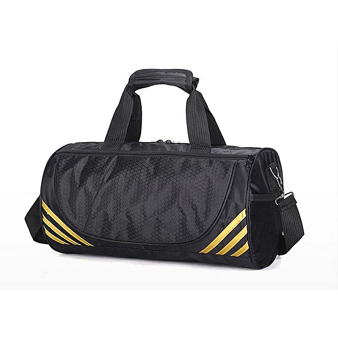 Other Décontracté Weekend voyage Duffle sac imperméable Oxford Cylinder Shape Shoulder sac With chaussures Cabin Hommes voyage sacs Packing Cubes(or petit) à prix pas cher