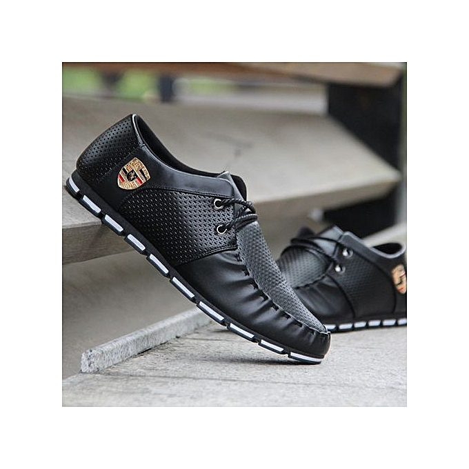 OEM New hommes chaussures, feet, breathable chaussures, hommes chaussures, casual chaussures-noir à prix pas cher