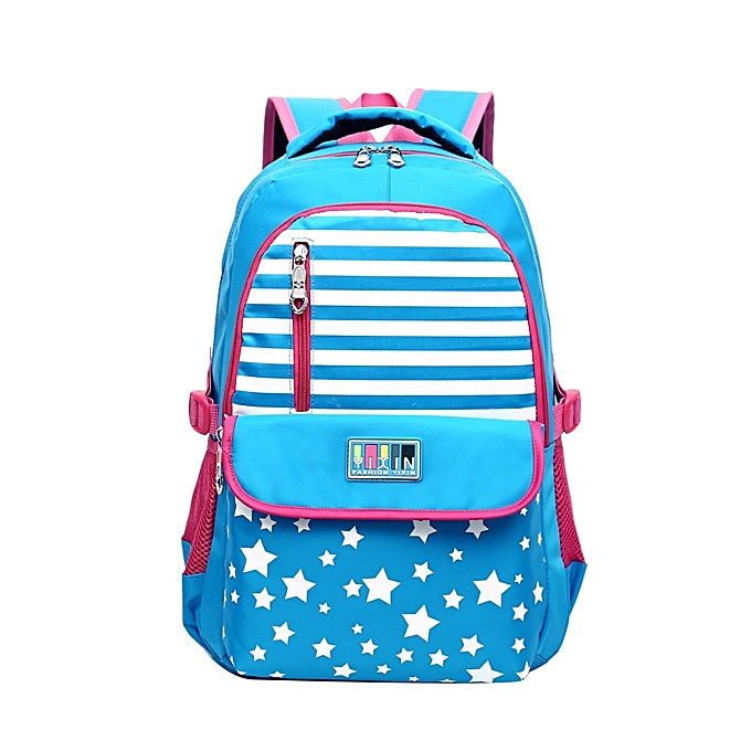 Fashion 7-15 Years Old Teenager Casual Students Nylon Backpack Large Capacity Durable School Bag à prix pas cher