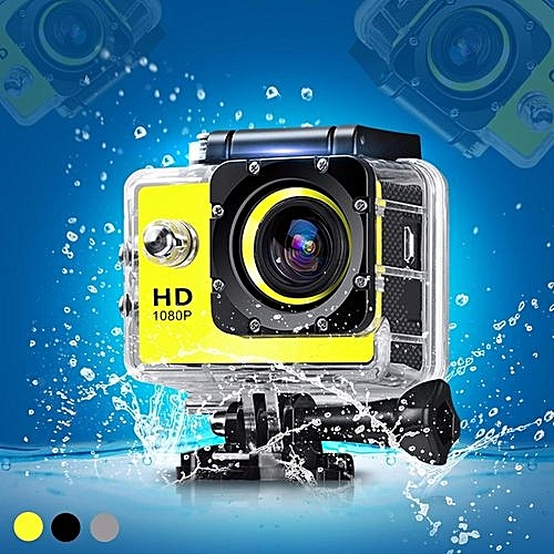 SJ4000 HD 1080P 2.0'' LCD Sports Action DV Car DVR Camera Camcorder Waterproof Yellow
