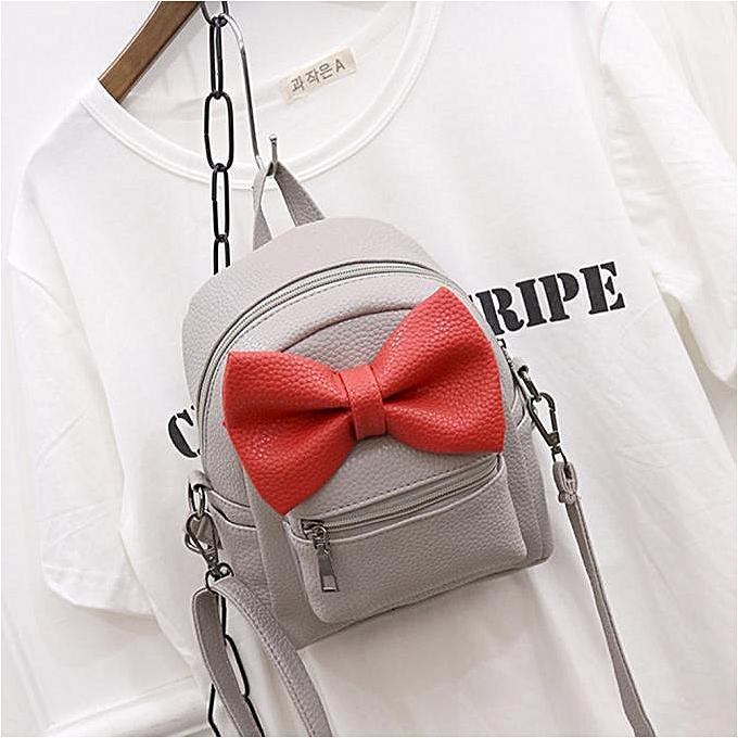 mode Singedan Shop femmes cuir Shoulder School sac sac à dos voyage Satchel sac à dos Handsac GY à prix pas cher