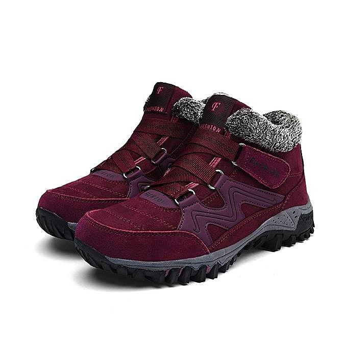 Fashion Fashion Large Taille femmes Winter bottes Non Slip Hook Loop Casual Ankle bottes à prix pas cher    Jumia Maroc
