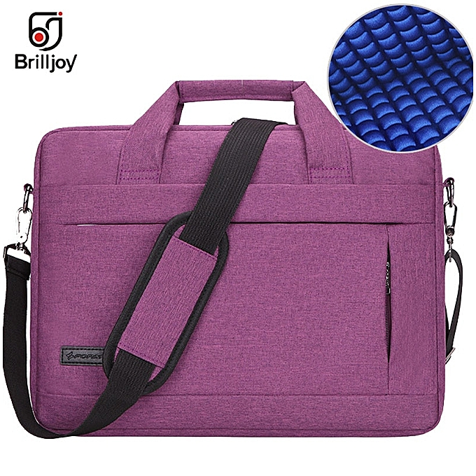 Other Brilljoy Hommes femmes voyage Briefcase Bussiness Notebook sac for grand capacité Laptop Handsac for 14 15 Inch Macbook Pro Dell PC(violet 14 Inch) à prix pas cher