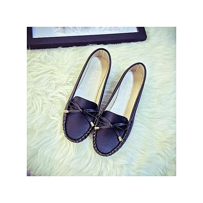 Fashion Hiamok Summer femmes Flats chaussures Casual Flat femmes chaussures Slips Flat Wohommes chaussures BK 38 à prix pas cher    Jumia Maroc