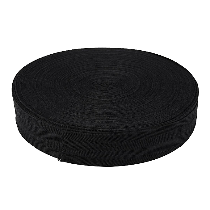 UNIVERSAL 45M Cotton Tape Webbing Sewing Strap Ribbon Roll For Bunting Apron Bag Belt1-5cm 4cm à prix pas cher