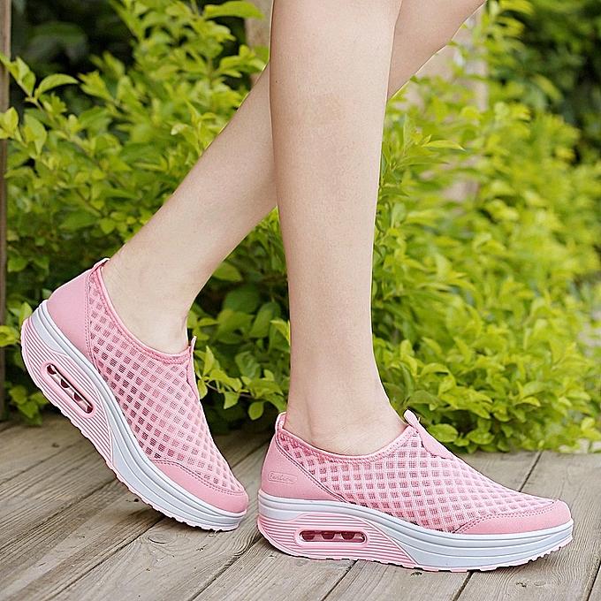 Fashion Air cushion femmes chaussures mesh sports platform chaussures à prix pas cher    Jumia Maroc