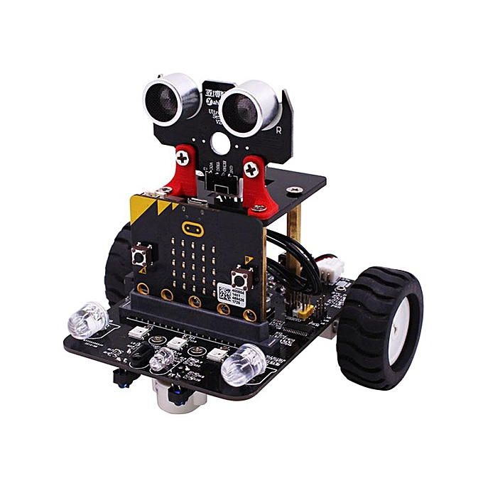 OEM Yahboom Programable Wheeled intelligent Robot voiture DIY Kit for Microbit Support Educat à prix pas cher