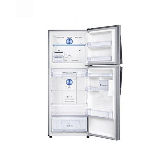samsung r frig rateur avec cong lateur en haut twin cooling plus 450 l silver. Black Bedroom Furniture Sets. Home Design Ideas