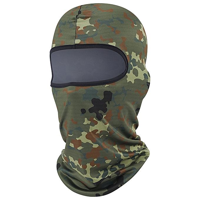 Autre Digital camouflage Breathable Balaclava Helmet Liner Face Masks Shield Prougeection Motorcycle Ski Snowboard Biker Moto Motorbike( 4) à prix pas cher