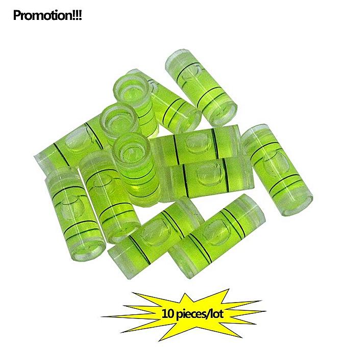 Autre Promotions   10PCS LOT Acrylic tube vial Level bubble Photo Frame TV rack Cylindrical Bubble Level Taille 9.525mm à prix pas cher