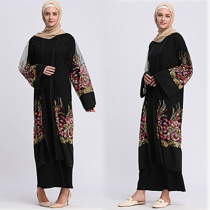 mode Hiamok mode Embroiderouge engrener veste voituredigan Fbaguee Belt engrener Robe à prix pas cher