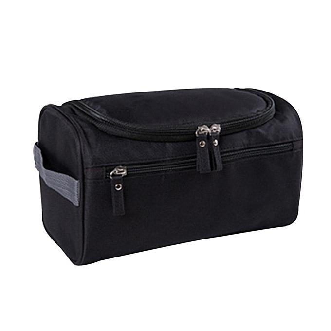 Other SHUJIN Men casual Oxford Travel bag femmes travel jobs bag toiletries multifunction Portable Organizer Bag waterproof makeup bag(noir) à prix pas cher